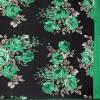 Kashvi Sarees Faux Georgette Green & Multi Color Printed Saree With Blouse Piece ( 1152_3 )