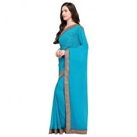 Kashvi sarees border sari with blouse