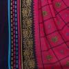 Kashvi sarees Georgette with Blouse Piece Saree (1520_Multicoloured_One Size)