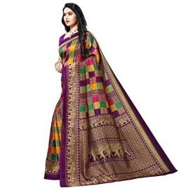 Kashvi sarees Georgette with Blouse Piece Saree (1550_4_Multicoloured_One Size)