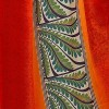 Kashvi Sarees Georgette Striped Floral Print Daily Wear Saree with Blouse Piece