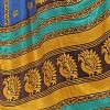 Kashvi Sarees Khadi Silk Printed Women's Saree with Unstitched Blouse Piece