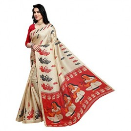 Khadi Silk Saree with Blouse Piece