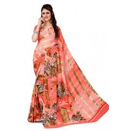 Kashvi Sarees Georgette Saree for Women with Blouse Piece (AS_1287)