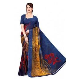 Kashvi Sarees Georgette Saree with Blouse Piece(AS_1475)
