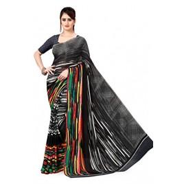 Kashvi Sarees Georgette Saree with Blouse Piece(AS_1494)