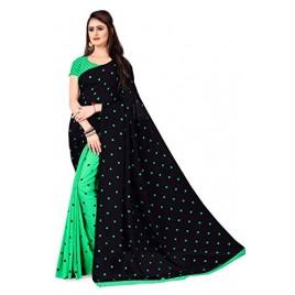 Kashvi Sarees Georgette Saree for Women with Blouse Piece(AS_1262_2)