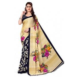 Anand Sarees Bhagalpuri georgette with blouse piece Saree