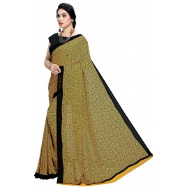 Kashvi Sarees Georgette Printed Daily Wear Saree with Un-stitched blouse for Women