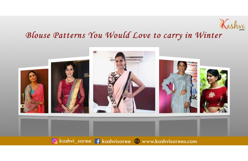 Blouse Patterns You Would Love To Carry In Winter