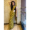 Printed Daily Wear Georgette Saree  (Yellow)