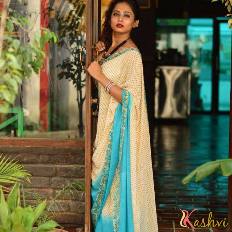 Kashish AnitaAwadh is with Kashvi Sarees.